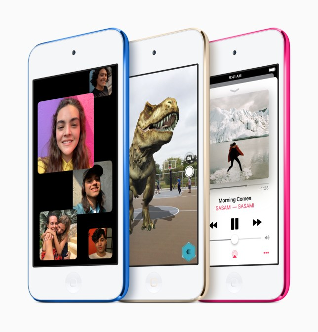 'Why would you buy an iPod when it's just a more limited iPhone?' (Image: Apple)