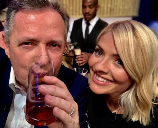 Piers Morgan and Holly Willoughby