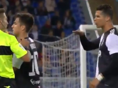 Cristiano Ronaldo mocks Roma defender Alessandro Florenzi for being too small
