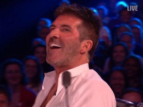 Simon Cowell calls David Walliams a 'w***er' on Britain's Got More Talent