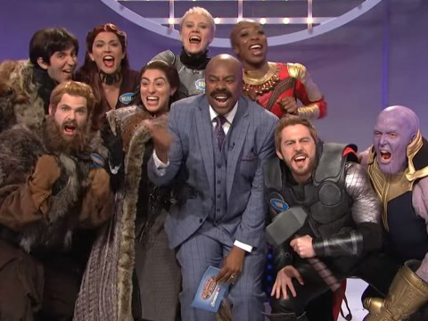 Avengers and Game Of Thrones go head-to-head on SNL for Family Feud