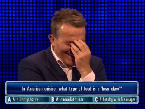 Bradley Walsh loses it over The Chase contestant's answer to bear claw question