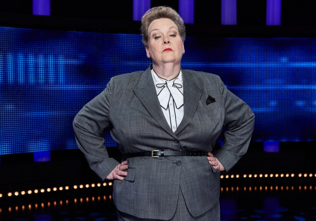 The Chase's Anne Hegerty