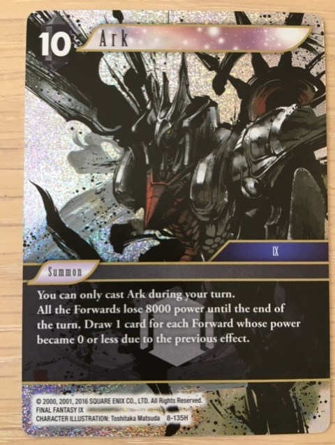 Final Fantasy Trading Card Game Opus VIII review – Reader's Feature
