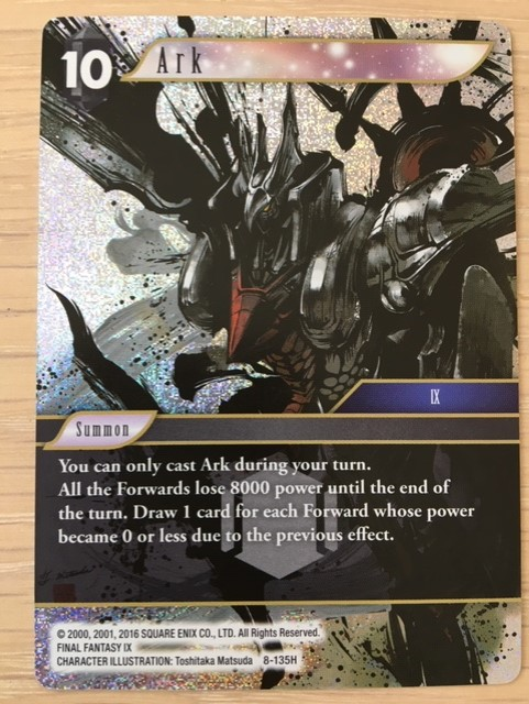 New Trading Card Games 2019 Final Fantasy Trading Card Game Opus VIII review – Reader's