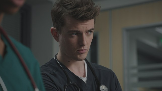 Will is forced to help end the life of a patient in Casualty