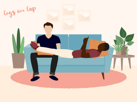 The way you sit with your partner could say a lot about your