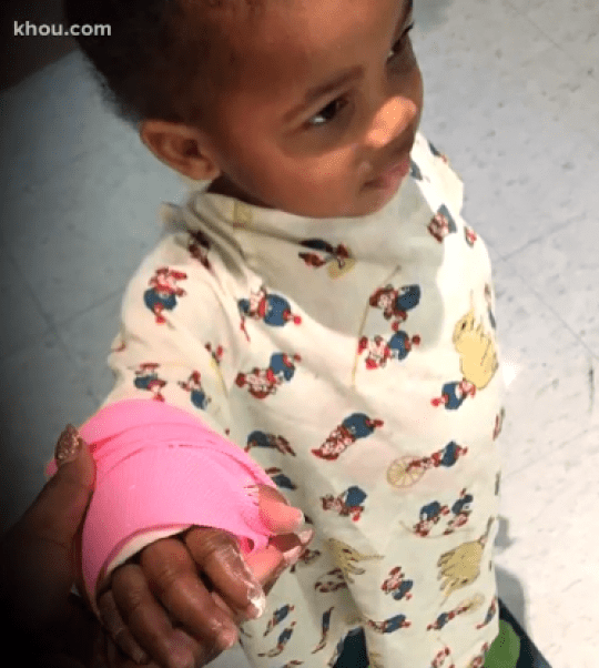 Doctor found 800ml of blood in sexually abused toddler's stomach