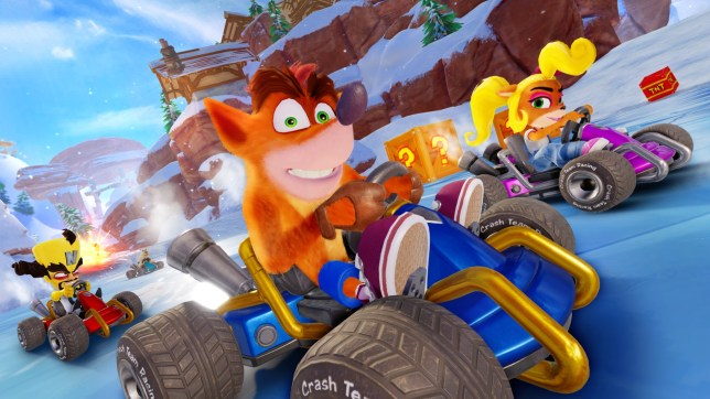 Crash Team Racing Nitro-Fueled (PS4) - the challenger returns