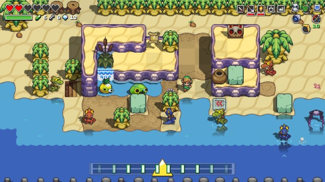Cadence Of Hyrule (NS) - a musical mash-up