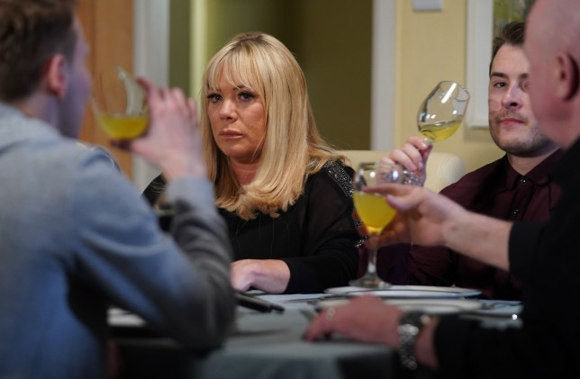 Sharon Mitchell played by Letitia Dean in EastEnders