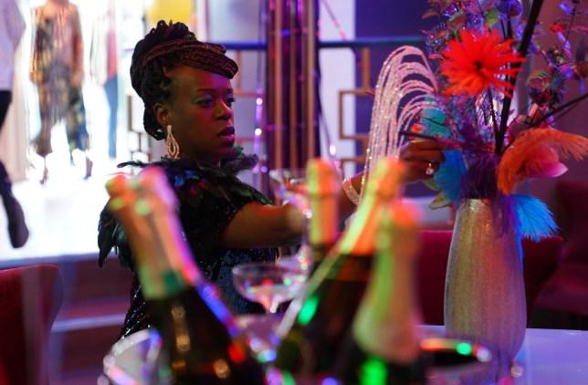 Tameka Empson as Kim Fox-Hubbard