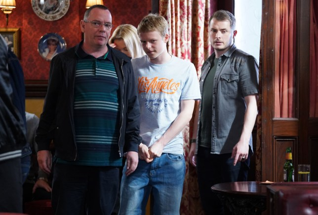 Bobby Beeale, Ian Beale and Ben Mitchell
