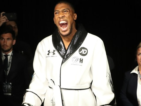 Anthony Joshua plans to be more 'switched on' during ring walk for Andy Ruiz Jr rematch
