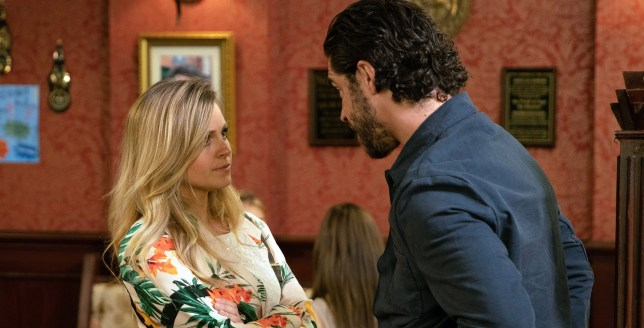 Adam shares his fears with Sarah in Coronation Street