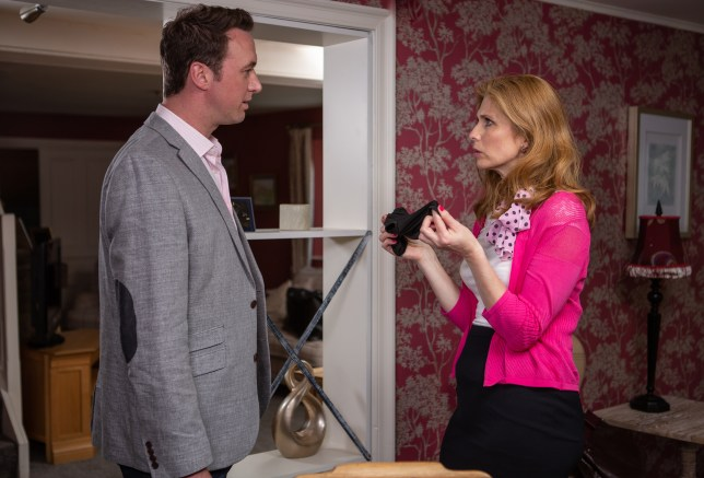 Bernice wants answers from Liam in Emmerdale
