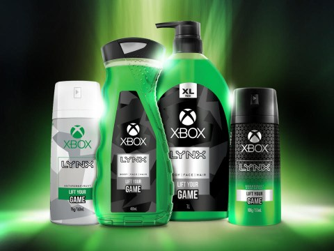 Lynx body spray and deodorant range lets you smell like an Xbox