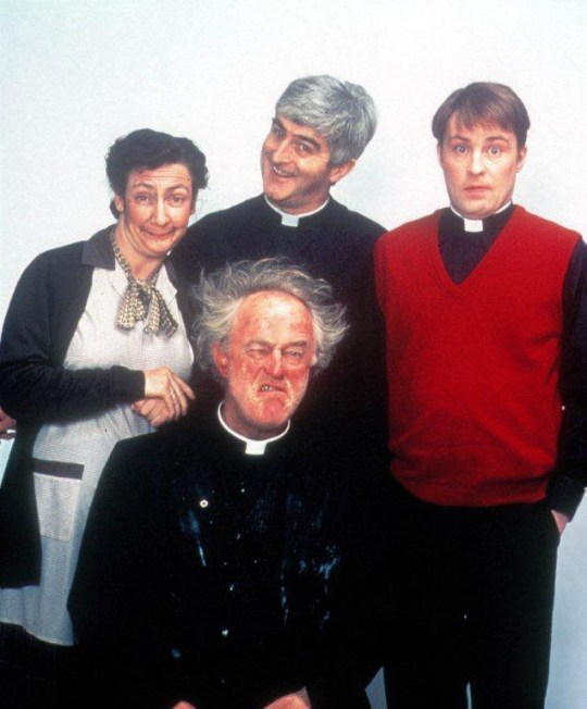 Father Ted creators 'settle their differences' to get on