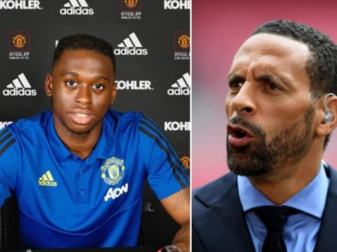 Rio Ferdinand sends message to Aaron Wan-Bissaka after completing his £50m Manchester United move