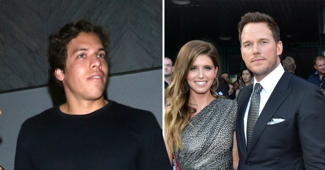 Katherine Schwarzenegger's brother hits the gym as she marries Chris