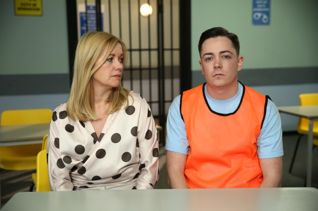 Diane goes to see Finn in Hollyoaks