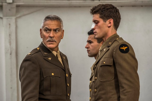 What other TV shows has George Clooney been in as he stars in Catch-22?