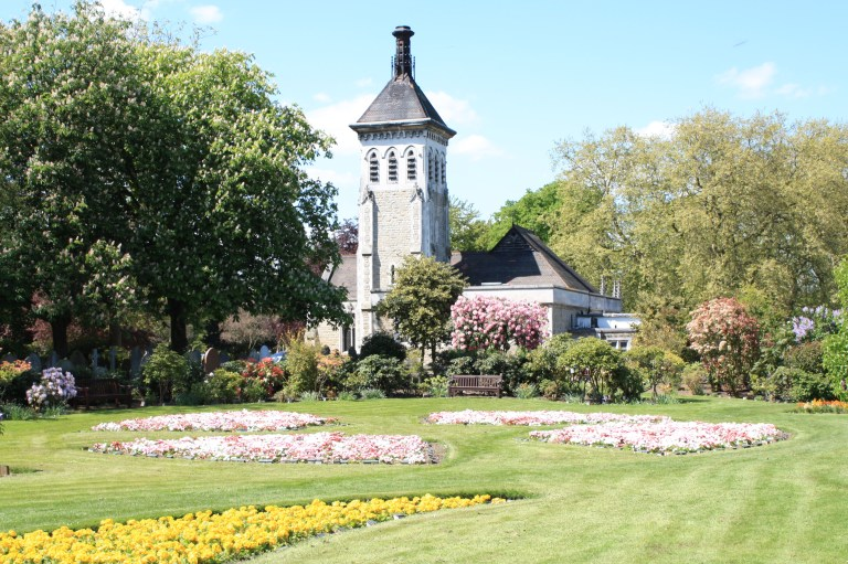 The City of London Cemetery and Crematorium in Newham