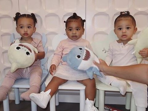 Kardashian 'triplets' Chicago, True and Stormi are enough to make anyone broody