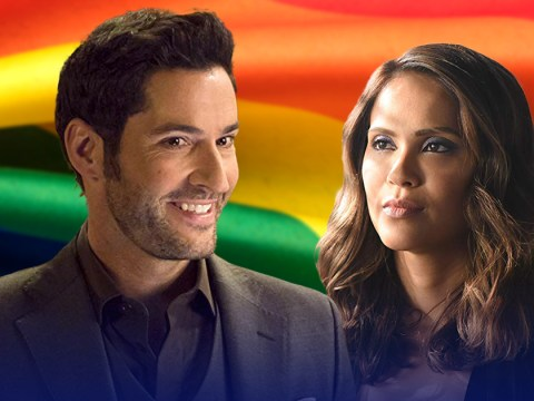 Lucifer star Lesley-Ann Brandt celebrates show's LGBT characters with adorable Pride fan art