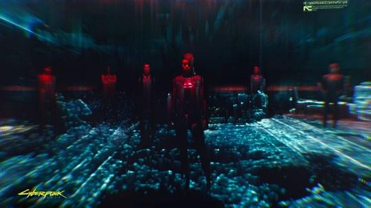 A still from Cyberpunk 2077