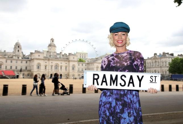 Denise van Outen in London
