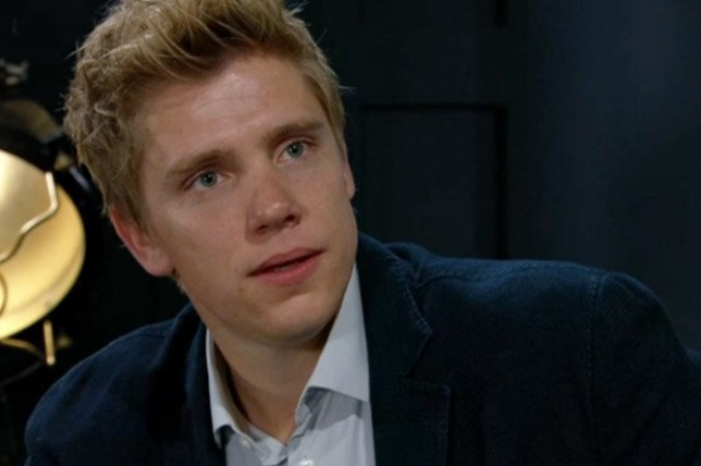 Robert Sugden, played by Ryan hawley on Emmerdale