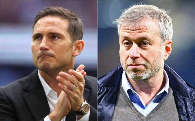 Frank Lampard has held talks with Chelsea owner Roman Abramovich