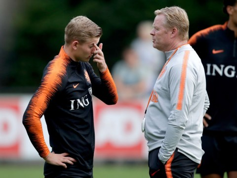 The advice Ronald Koeman gave Matthijs de Ligt on choosing Liverpool, Man Utd, Barcelona or PSG