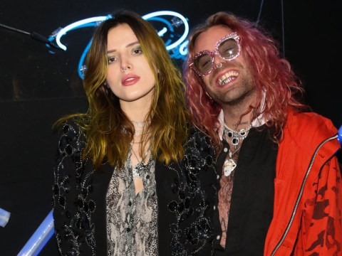 Bella Thorne's ex Mod Sun jokes 'don't film too much on your phone' after nude picture leak