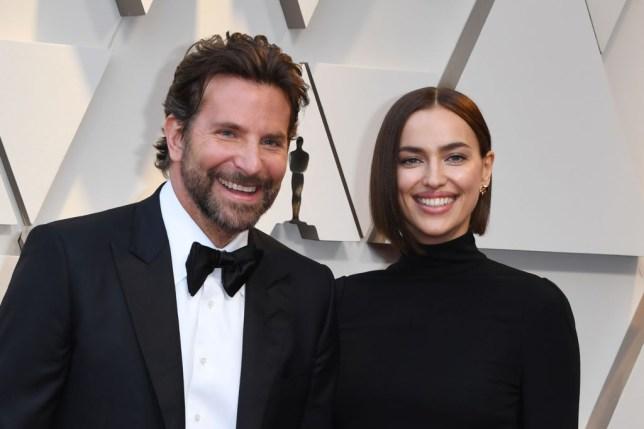 Bradley Cooper and ex-girlfriend Irina Shayk