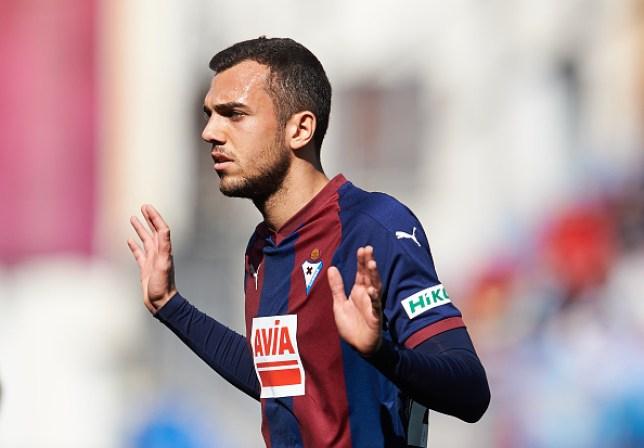Arsenal have been linked with a move for Eibar playmaker Joan Jordan