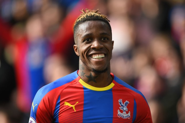 Wilfried Zaha is keen for Arsenal to make their first transfer bid