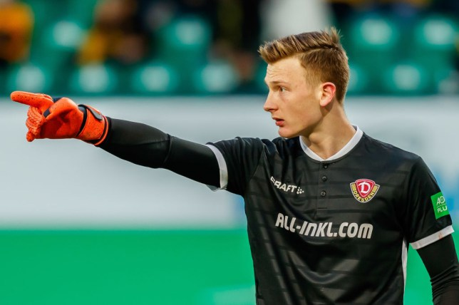 Markus Schubert has been linked with a summer transfer to Arsenal