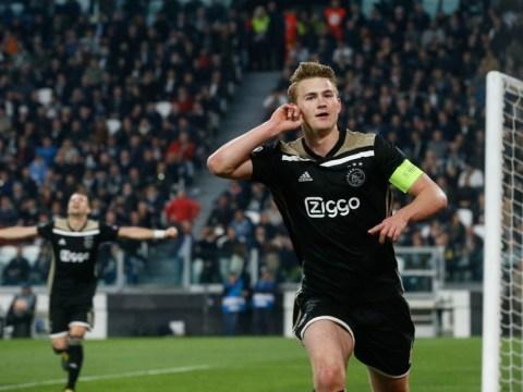 Juventus win race to sign Manchester United transfer target Matthijs de Ligt