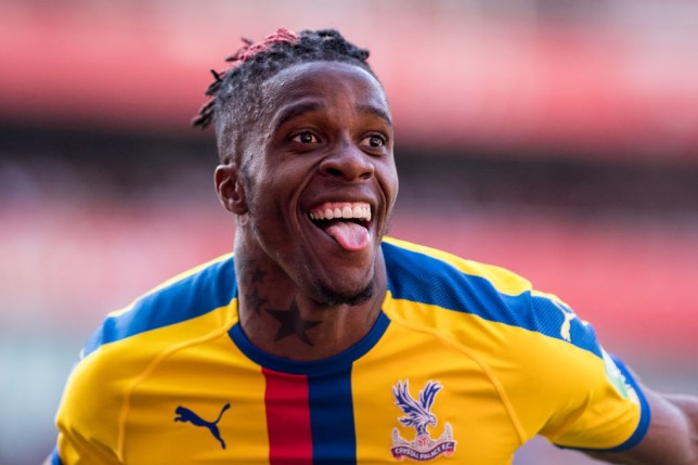 Wilfried Zaha makes transfer decision over £80m Arsenal move