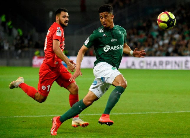 Arsenal and Manchester United are battling it out for William Saliba