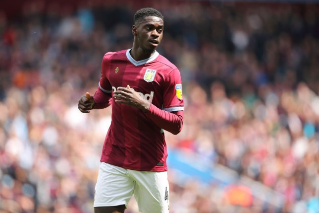 Axel Tuanzebe spent last season on loan at Aston Villa