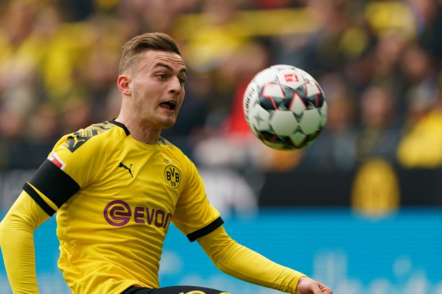 A number of Premier League clubs are interested in signing Jacob Bruun Larsen from Borussia Dortmund