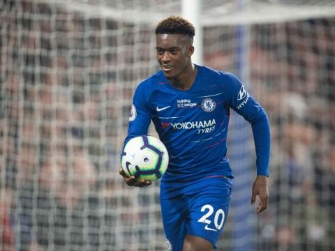 Chelsea star Callum Hudson-Odoi is set to return from injury sooner than expected