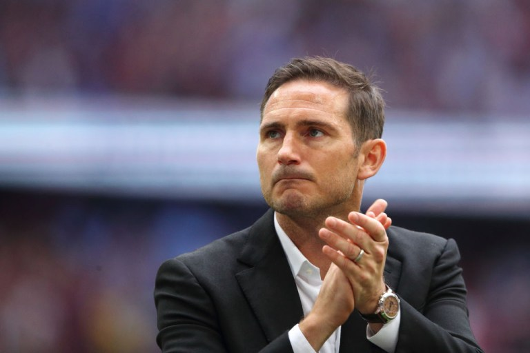 Frank Lampard impressed during his first season in management with Derby