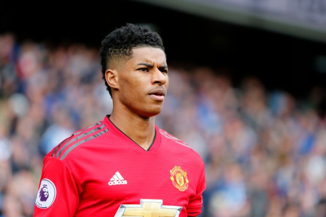 Marcus Rashford has been in talks with Manchester United over a new deal