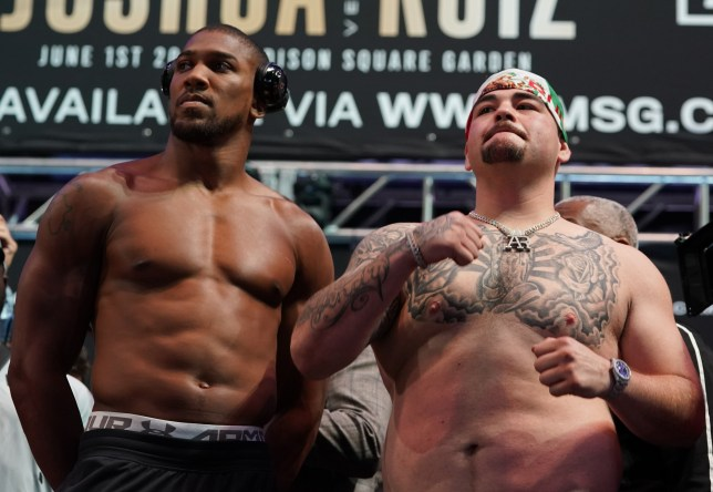 Andy Ruiz Vs Anthony Joshua 2