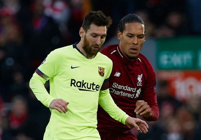 Lionel Messi and Virgil van Dijk are the two favourites for the 2019 Ballon d'Or