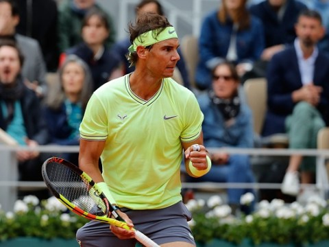Rafael Nadal dumps Roger Federer out of the French Open
